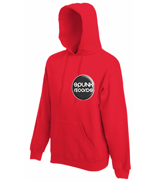 SPUNK HOODIES RED DESIGN small front